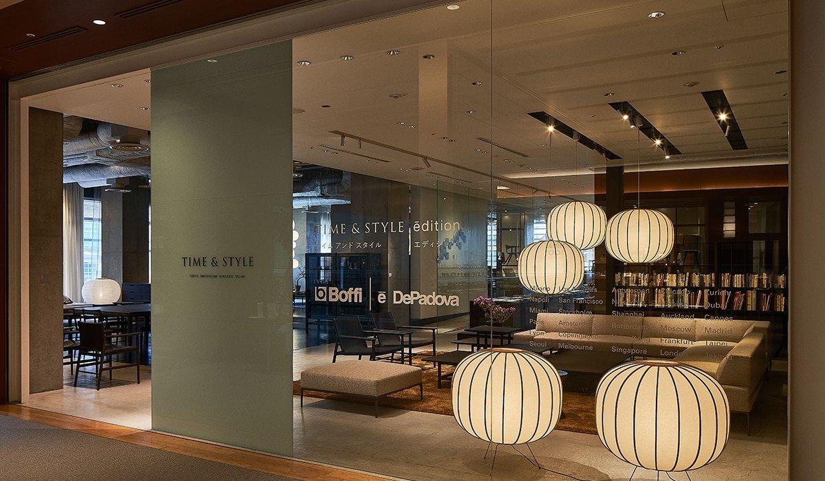 An interiors proposal rejuvenates Tokyo Midtown